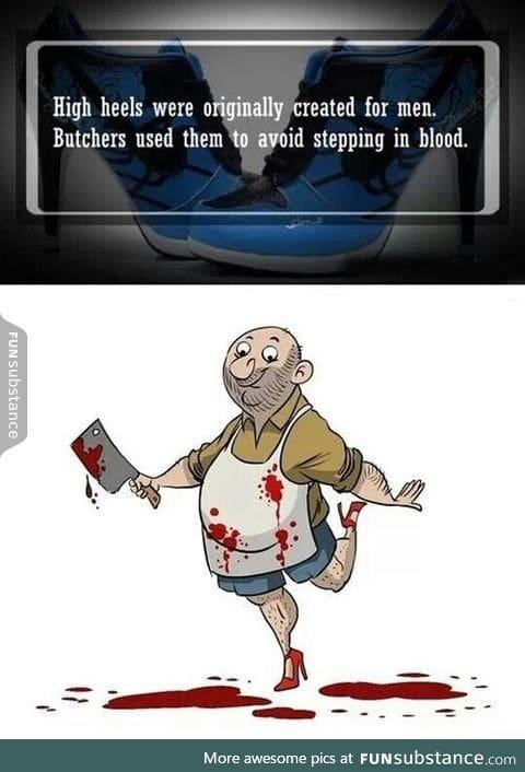 The butcher wears prada