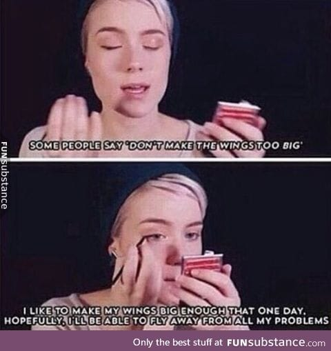 As a guy, I've never been able to relate to a makeup tutorial this much