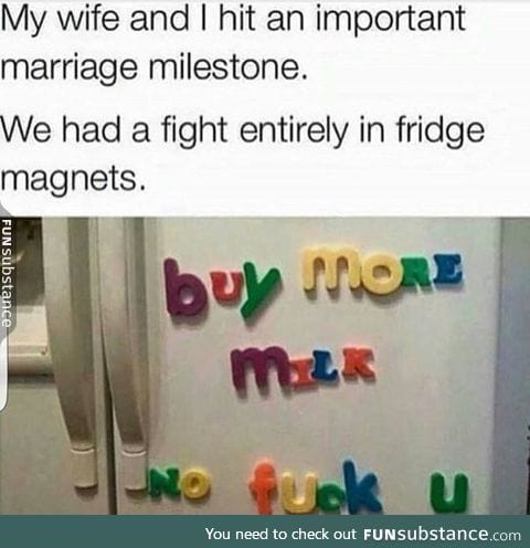 Second stage of marriage