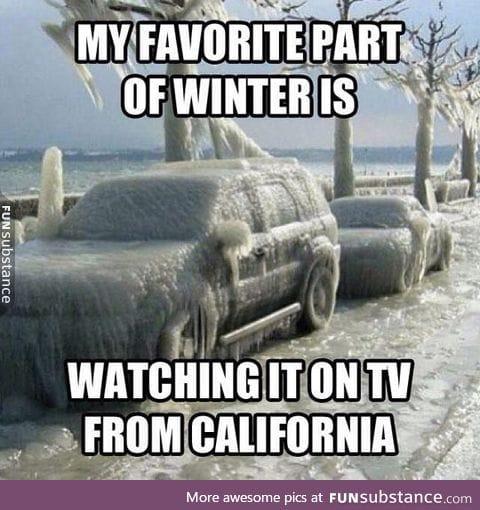 Favorite part of winter