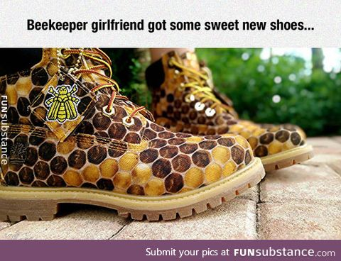 Honey hive shoes