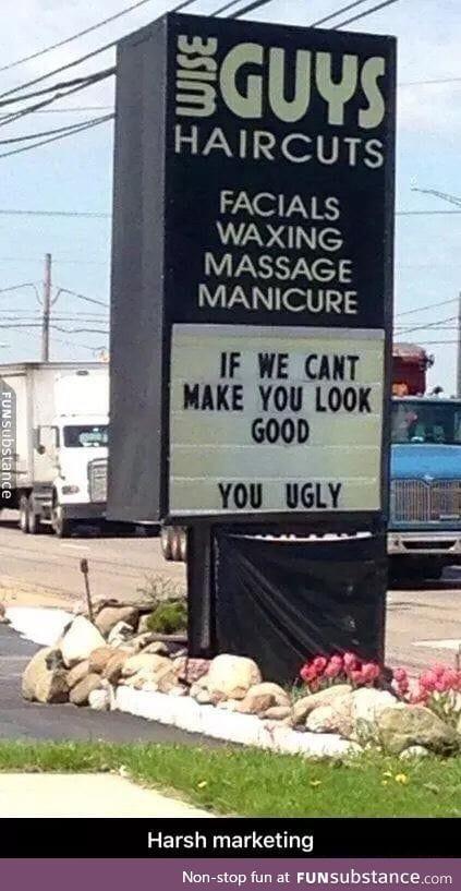 Honest advertisment