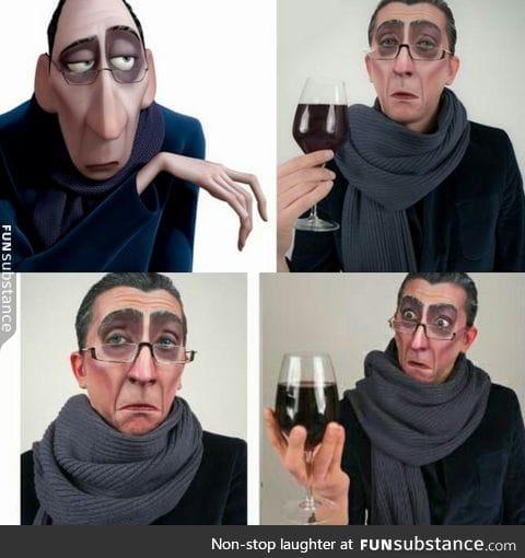 Anton Ego cosplay