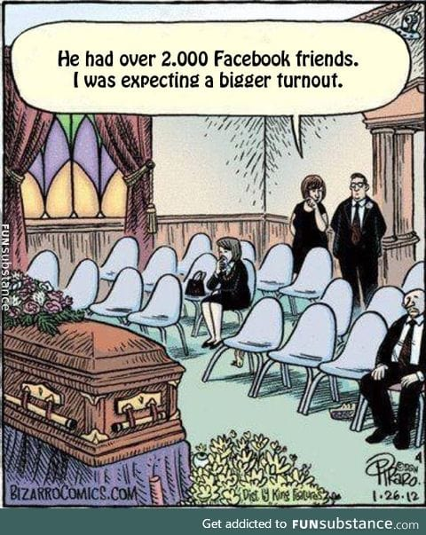 The way funerals will be in the near future