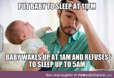 Only parents know the struggle