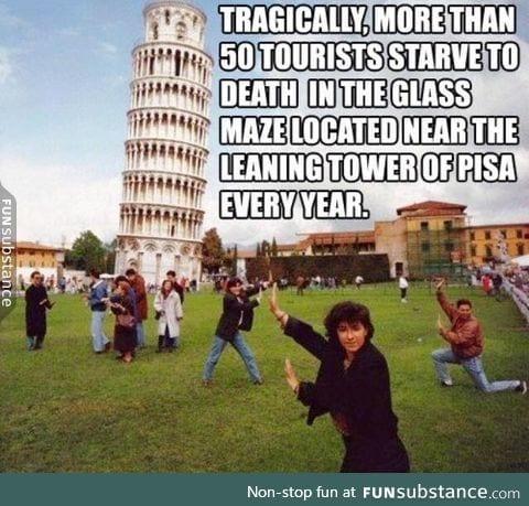 Poor tourist