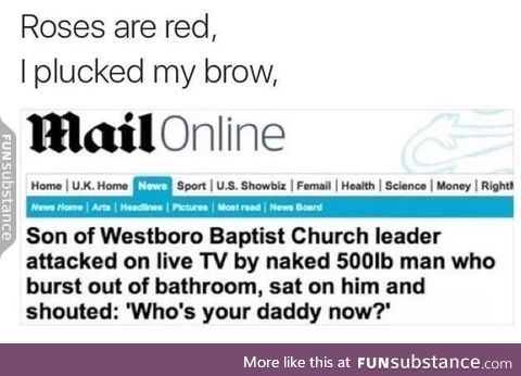 Now he's going to hell for being a f**