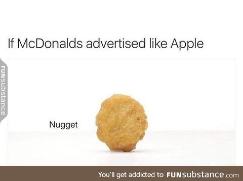 McDonalds adverts