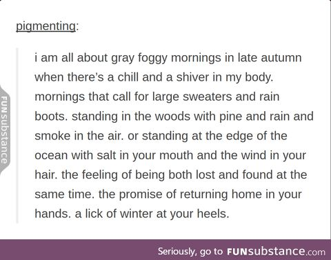 why fall is lovely