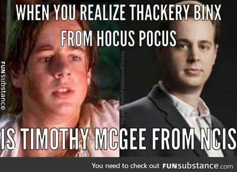 How did I not realize this?!