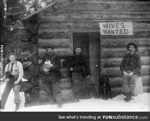 Before tinder, this is how it was done in montana in 1901