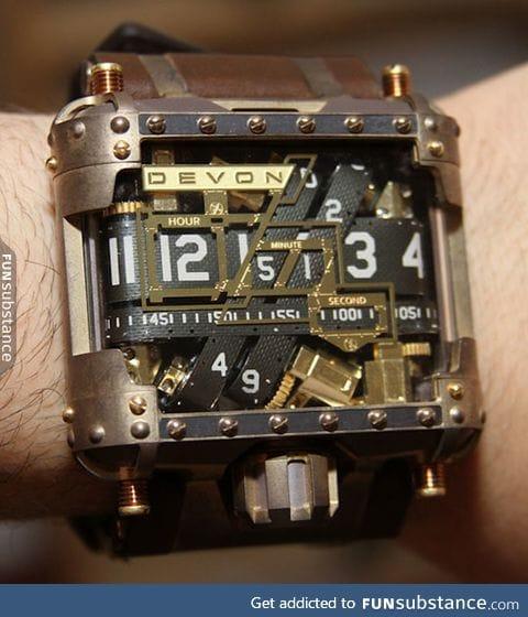 Mechanical watch design