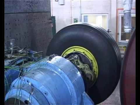 Airbus A380-800 Brake test