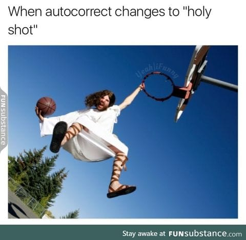 Holy shot!