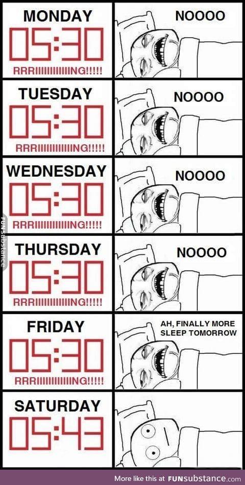 Stupid body clock