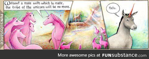 unicorns mate...