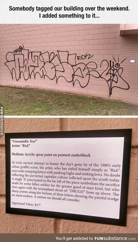 How to deal with undesired street art
