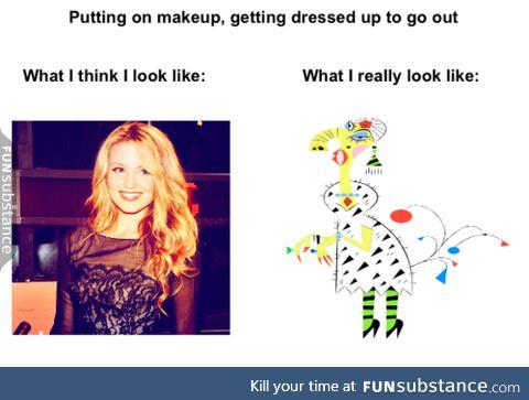 I always hated make up