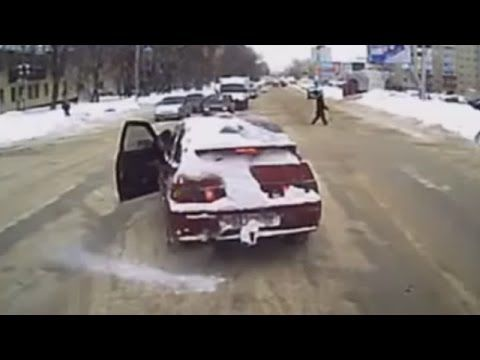 Winter road rage in Canada