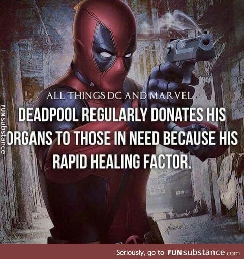 Good guy Deadpool