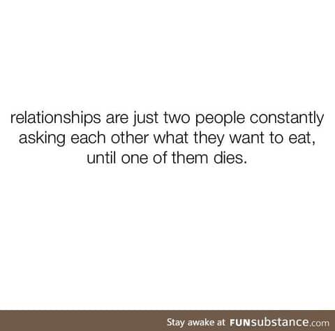 What relationship means