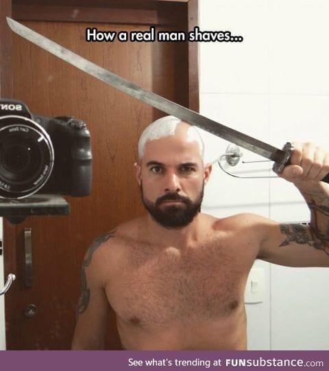 Do it like a man