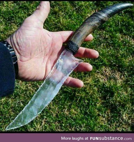 I heard you like knife