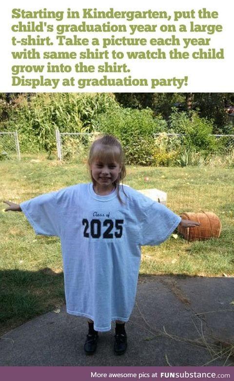 Graduation idea win