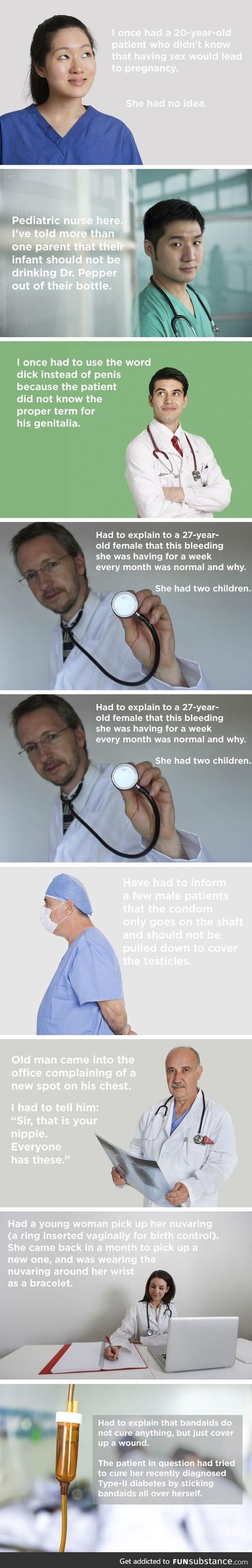 Dumbass patients