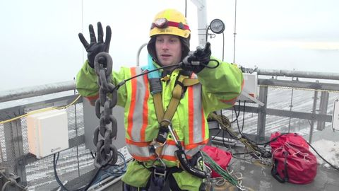How the Port Mann Bridge Clears the Snow and Ice from the Cables