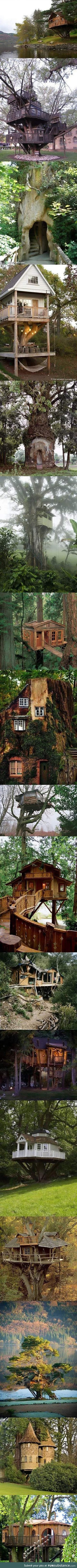 I need a grownup tree house in my life