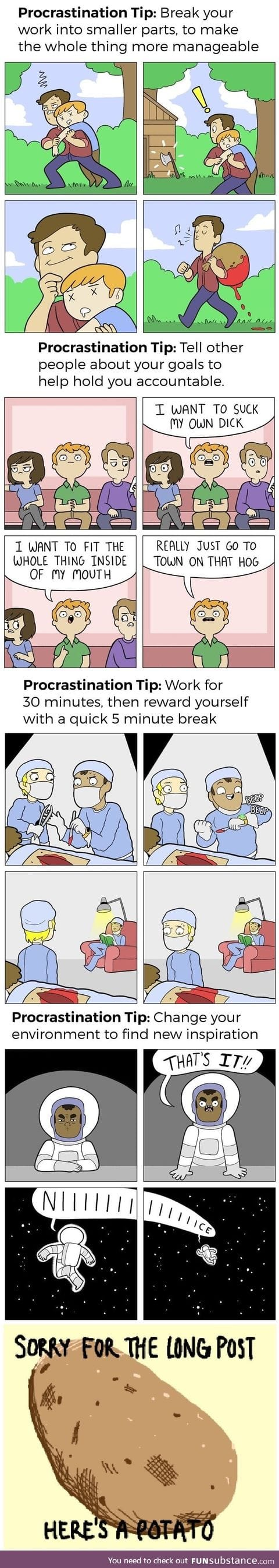How to cure procrastination. A guide made easy