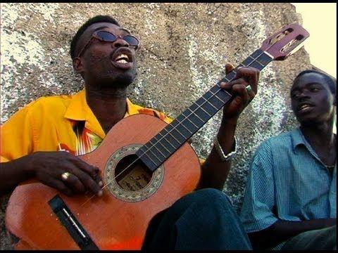 One string guitar man