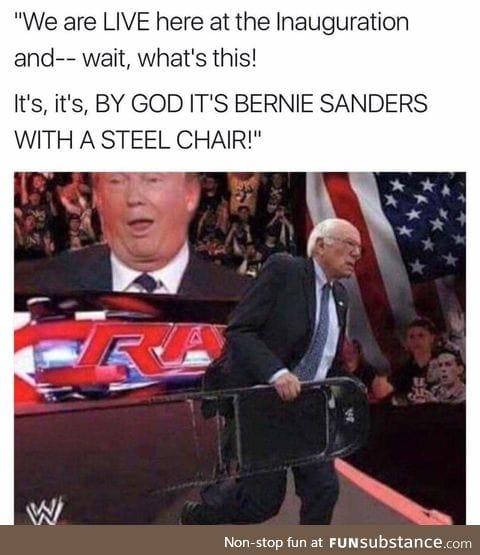 WWE SMACKDOWN SANDERS