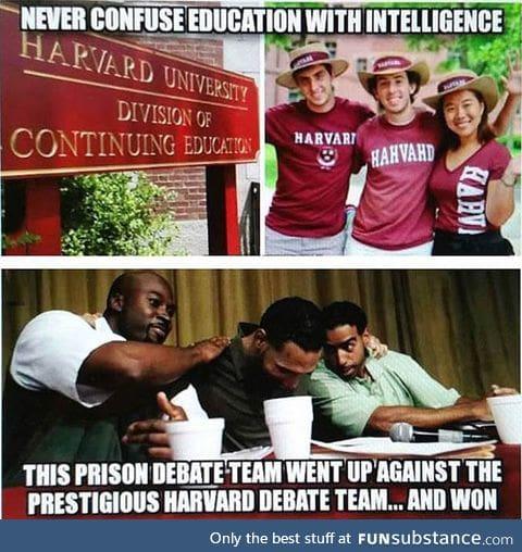 Education vs. Intelligence