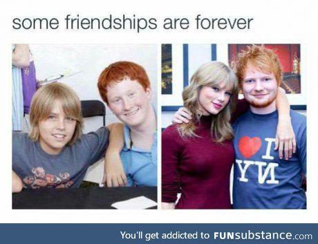 Some friendships last forever.