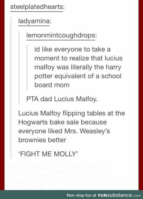 Fight me MOLLY!