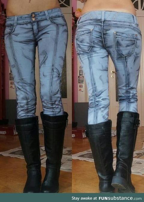 Gimme..comic book style pants