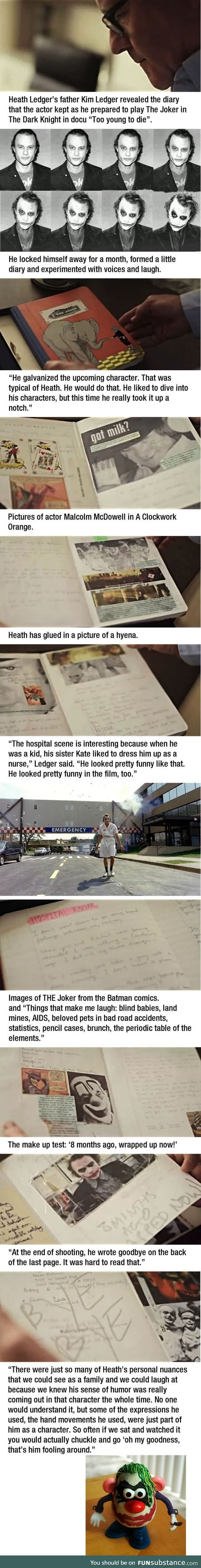 Heath Ledger was an interesting man