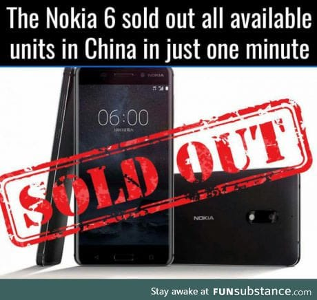 What a Monumental comeback from NOKIA