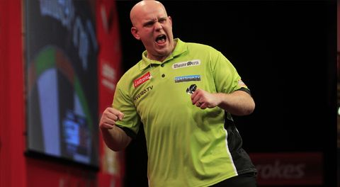 One of the greatest sporting moments in history. 17 perfect darts