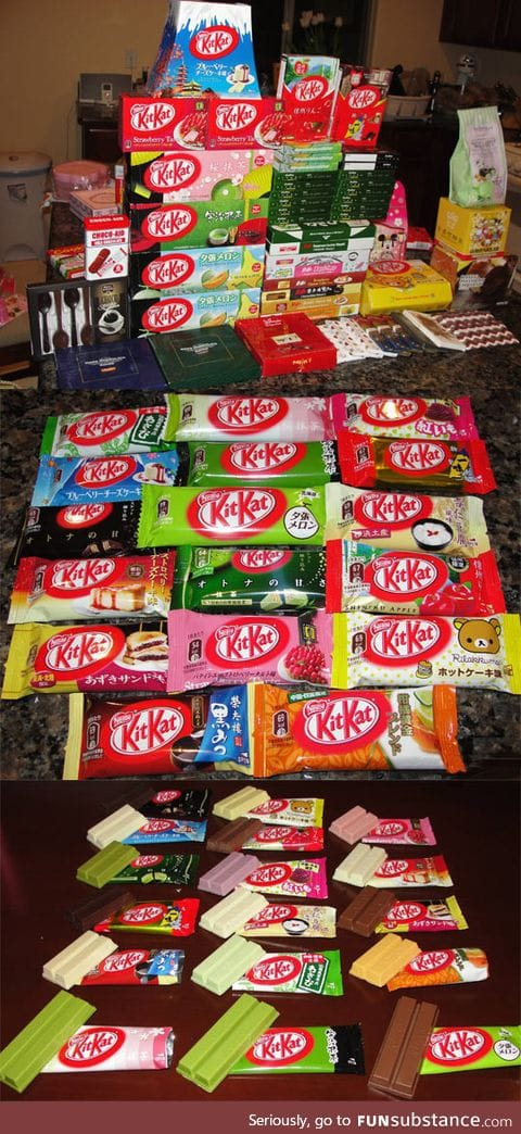 Apparently chocolate is way better in japan