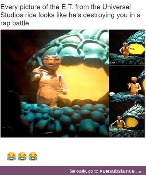 E.T. is a baller