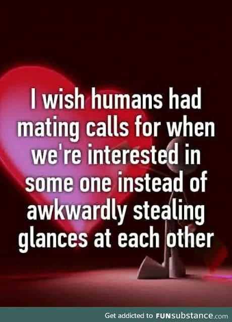 I think it's called flirting