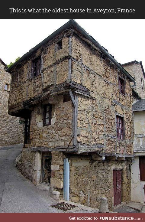 Oldest house in Aveyron, France