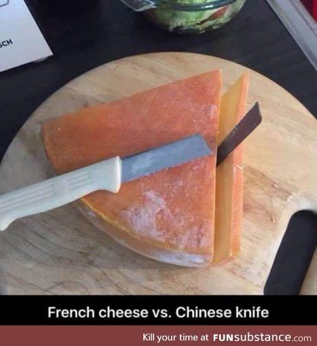 Cheese :)