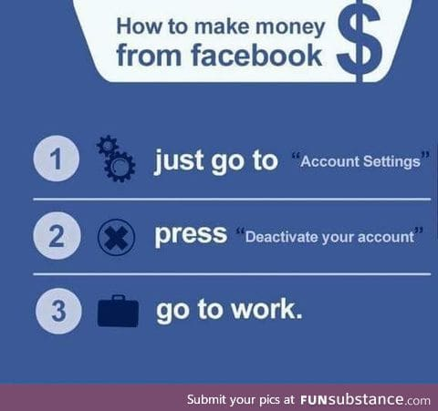 How to make from Facebook