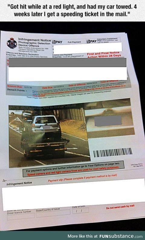 Infringement notice