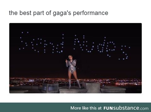 Well played, Gaga, well played.