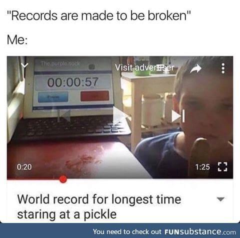 Break that rcord